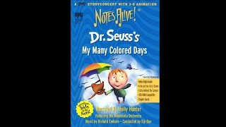 Notes Alive!: Dr. Suess' My Many Colored Days