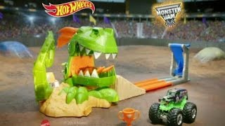Toy Commercial 2015 - Hot Wheels Monster Jam Dragon Blast Track Set - Push the Limits Video