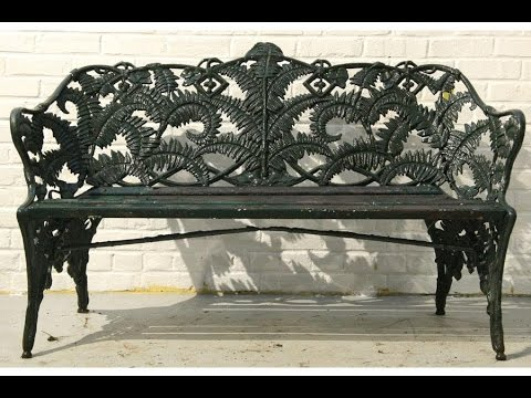 Cast Iron Gardenfurniture I Paint For Garden Furniture