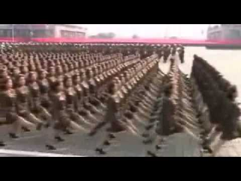 North Korean Army's annual karaoke dance party