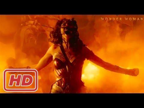 Wonder Woman Movie 2017 - Justice Starts With Her - Gal Gadot, Chris Pine Superhero Movie HD 2017