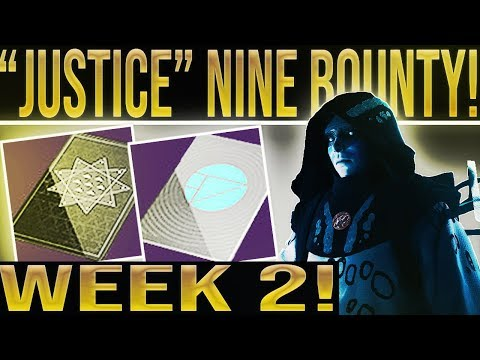 Destiny 2 Xur Bounty. JUSTICE! Invitation of the Nine Week 2, Quest, Lore, Dialogue And More! thumbnail