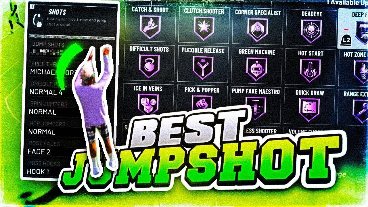 I FOUND THE BEST JUMPSHOT IN NBA 2K20! HOW TO UNLOCK JUMPSHOT CREATOR FAST  ( NEVER MISS AGAIN! )