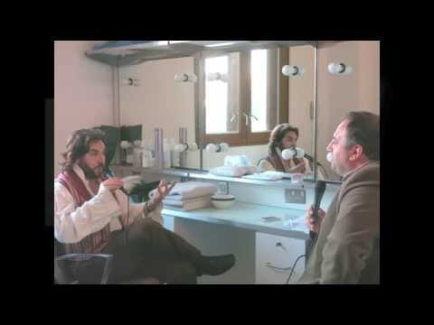 Roberto Alagna - RADIO INTERVIEW @ ROH - By Wynne Evans   Classic FM