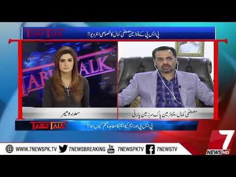 Table Talk With Syed Mustafa Kamal 14 November 2017 |7News|