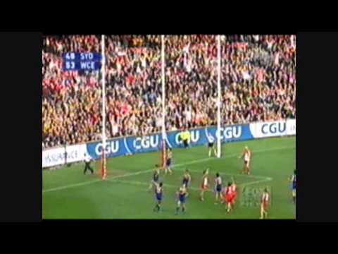 2005 AFL Grand Final Highlights Sydney v West Coast Eagles