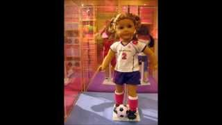 Harper and I go to American Girl Place L.A. 2012