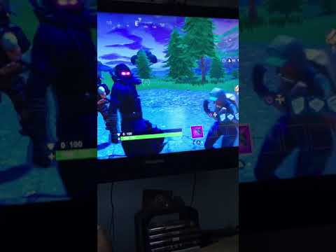 PS4 dance party in the lobby