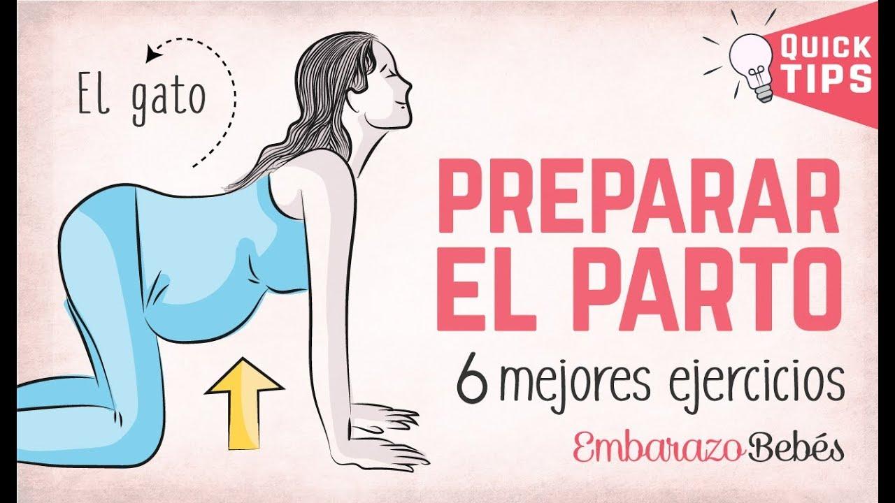 7 Ejercicios Para Encajar Al Bebé En La Pelvis Youtube