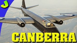 War Thunder- Canberra British Precision Bombing