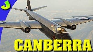 War Thunder- Canberra British Precision Bombing