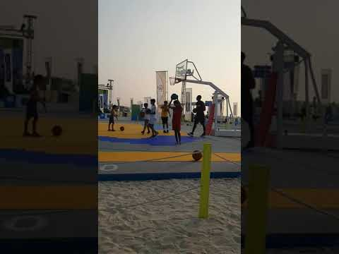 #dubai fitness challenge #kite beach
