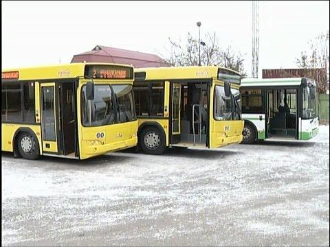 По маршруту № 2 пустят новые вместительные автобусы