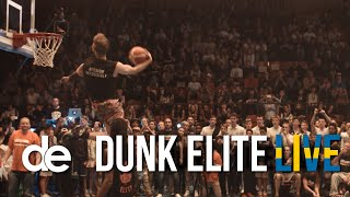 Dunk Elite: 720s and other MIND-BLOWING dunks! Jordan Kilganon and Rafal Lipinski GO OFF at DE Live! Video