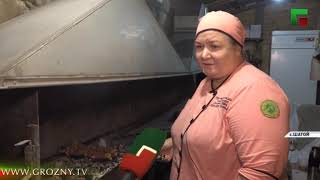 Известный шеф-повар республики Хадижат Мовлатова