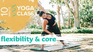 YOGA CLASS ☀️ Power Yoga Flow for Hip Opening and Flexibility | Jupiter Florida