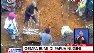 Gempa Papua Nugini Menewaskan 20 Orang
