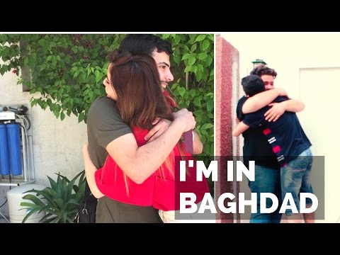 SURPRISING MY FRIENDS IN BAGHDAD  فاجئت اصدقائي ببغداد