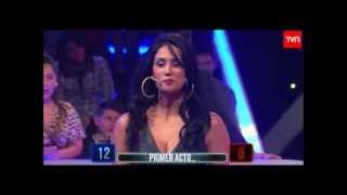 Pamela sorprende contando chistes en Juga2 [TVN]