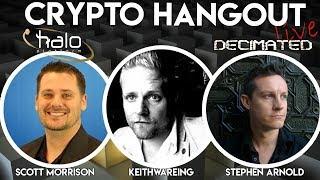 Halo Platform & Decimated Crypto Hangout - Halodex.io
