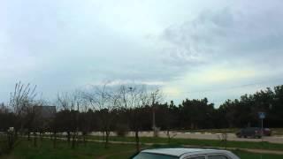 6.03.2014 российские Ми-24 блокируют украинский вертолет в Севастополе