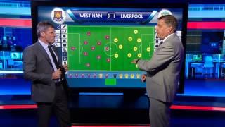Sam Allardyce's tactics against Liverpool