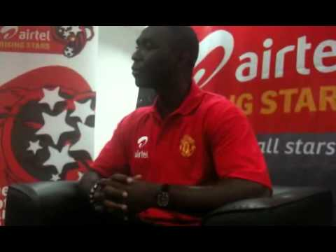 Andy Cole breaks Interview and Media Of Tanzania. (MICHUZI BLOG)