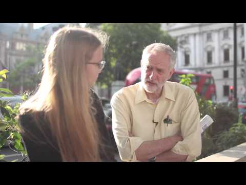 Abby Tomlinson interviews Jeremy Corbyn MP