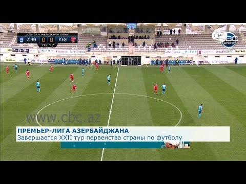Завершается 22-й тур Премьер-лиги Азербайджана по футболу