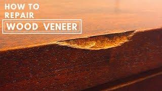 How to Repair Wood Veneer Like a Pro