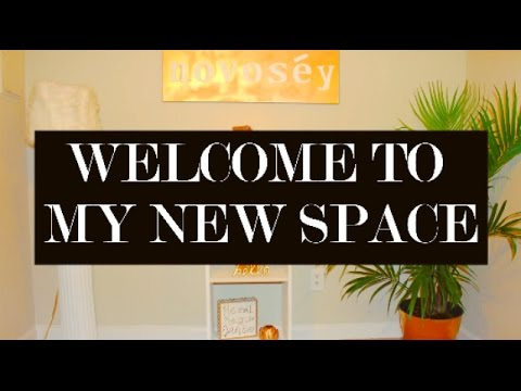 Welcome To My New Studio Tour || Chanelle Novosey