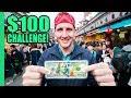 JAPAN Street Food $100 CHALLENGE in Asakusa, Tokyo! The best Japanese Street Food in Tokyo!