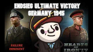 HoI4 1.8 Endsieg Mod - 1945 WW2 Germany -  The Suffering of Daniel RETURNS!