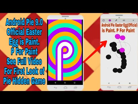 Android Pie 9.0 Easter Egg Official||new Android Pie 9 Easter Egg Hidden Game||by Chota Engineer
