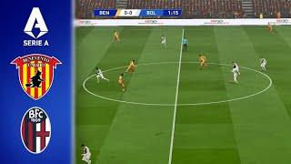 Benevento Calcio vs Bologna FC 1909 - Serie A 2020/2021 - 04 October 2020 - PES 2017 (PC/HD)