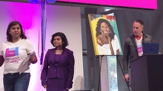 eBay International Women's Day 2019: Michelle Obama Portrait Auction for Charity
