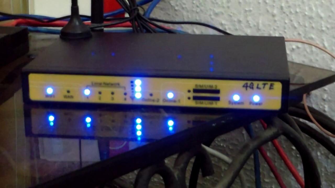 4G-FDD-LTE Dual SIM WiFi router by Ibidapo Ilawole