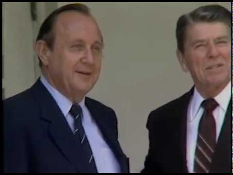 President Reagan's Photo Ops. in the Oval Office, Cabinet Room and Rose Garden on July 11-12, 1983