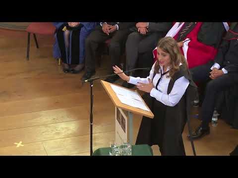 MBA Graduation Speech - Saïd Business School, University of Oxford (Kristina Partsinevelos)