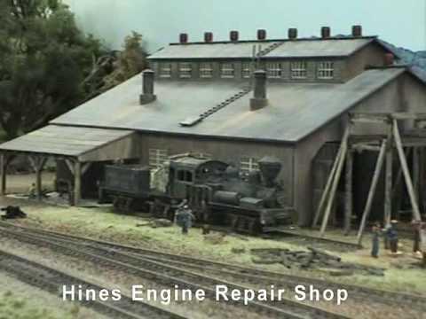 HO Model Railroad – Hines Lumber Co