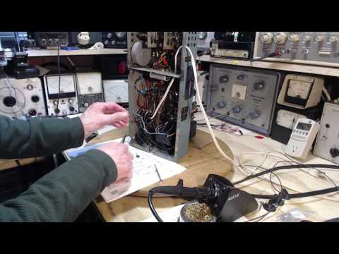 PYE 39HC Shortwave Broadcast Receiver Video #2 - My Bad