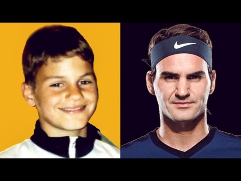 Roger Federer | From 3 to 35 Years Old