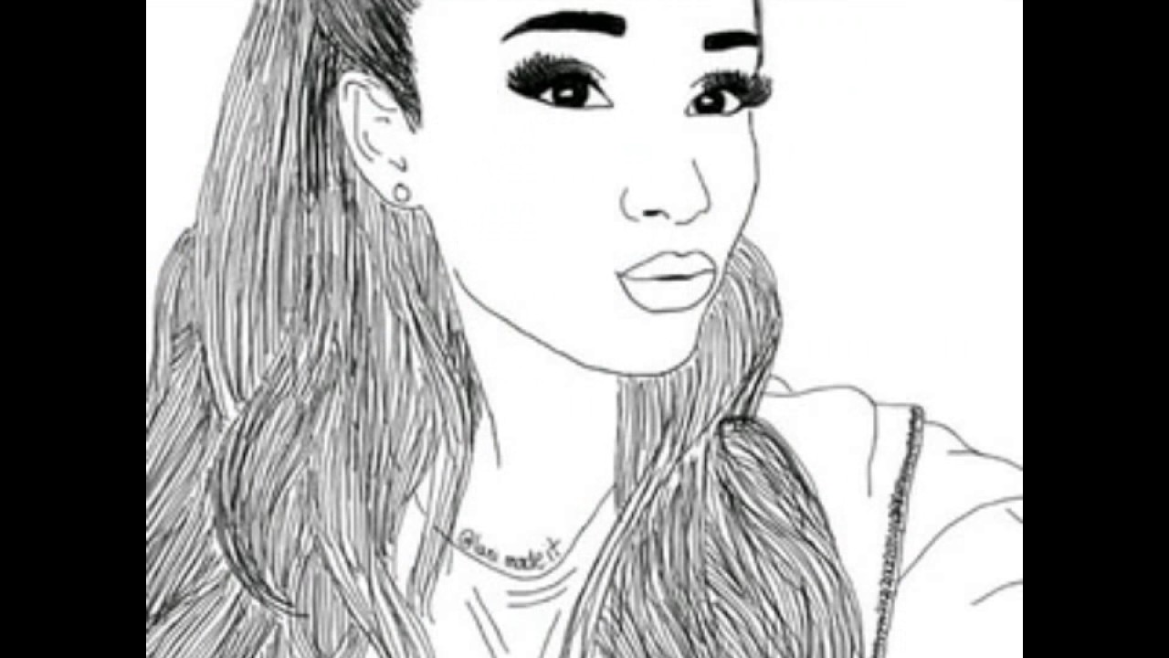Tutti I Disegni Che Anno Dedicato Ad Ariana Grande 2 Parte Youtube