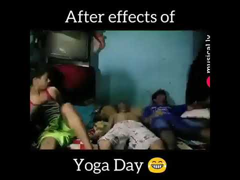 After effect of yoga day Comedy ka tadka editing by Gaurav Chaurasiya