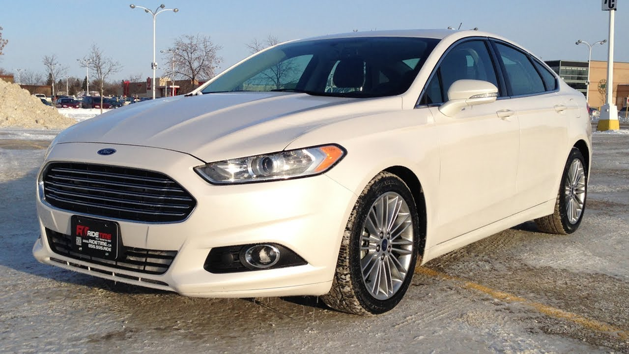 2017 Ford Fusion Se Winnipeg Mb Tech Luxury Package From Ride Time In Canada