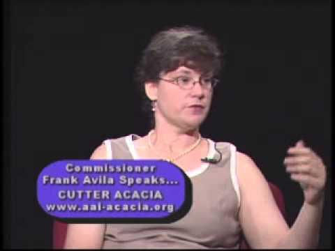 Cutter Acacia - Commissioner Frank Avila Speaks