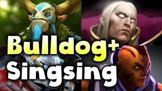 SingSing + Bulldog Stack! vs TI7 EU Open Quals #2 DOTA 2