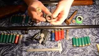 МЦ 21-12 снаряжение патронов в стрелянные гильзы (Часть 2)