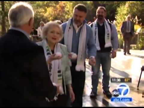 Betty White of Lifeline Program on ABC 7