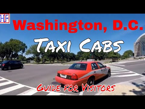 Washington, D.C | Taxi Cabs | Tourist Information | Episode# 3